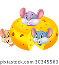 animal cartoon character 30345563