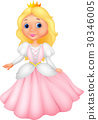 Cute princess cartoon 30346005
