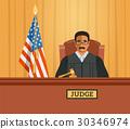 judge, man, courtroom 30346974