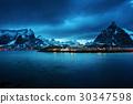 Sakrisoy village, Lofoten islands, Norway 30347598