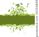 green floral concept 30350809