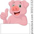pig, up, thumb 30351332