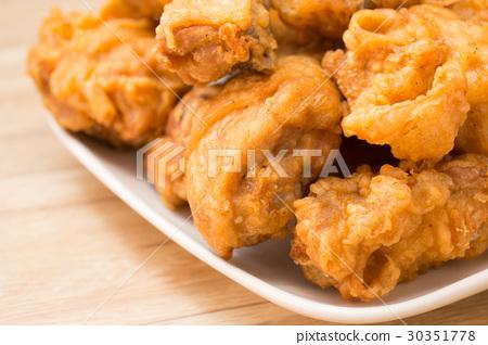 炸雞,雞肉,雞塊,Fried chicken, chicken 30351778