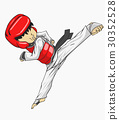 Taekwondo. Martial art 30352528