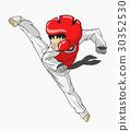 Taekwondo. Martial art 30352530