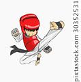 Taekwondo. Martial art 30352531
