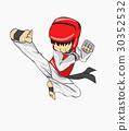 Taekwondo. Martial art 30352532