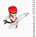 Taekwondo. Martial art 30352533