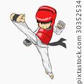 Taekwondo. Martial art 30352534