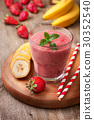 smoothie, banana, strawberry 30352540