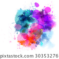 设计 水彩画 水彩 30353276