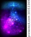 Abstract christmas tree 30353369