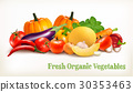 Big set of colorful vector vegetables. 30353463