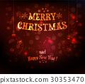 Christmas background 30353470