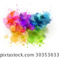 设计 水彩画 水彩 30353633