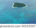 green island, the great barrier reef, blue water 30359367