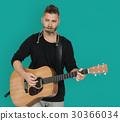 guitar, guy, harmonica 30366034
