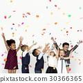 Children Smiling Happiness Friendship Togetherness Celebration Studio Portrait 30366365