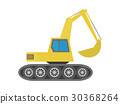 digger, excavator, heavy 30368264