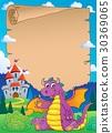Fairy tale theme parchment 9 30369065