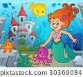 mermaid, woman, female 30369084