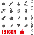 vegetables, icon, fruit 30370513
