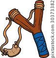 slingshot wooden child 30373382