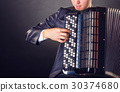 手風琴 男性 男人 30374680