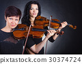 violin, woman, female 30374724