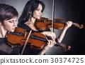 바이올린, 여자, 여성 30374725