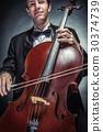 violoncello, cello, male 30374739