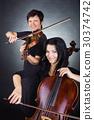 violin, woman, female 30374742