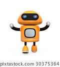 机器人 橙色 橙子 30375364