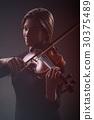 바이올린, 여자, 여성 30375489