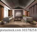 japanese living lobby lounge and reception 30378258