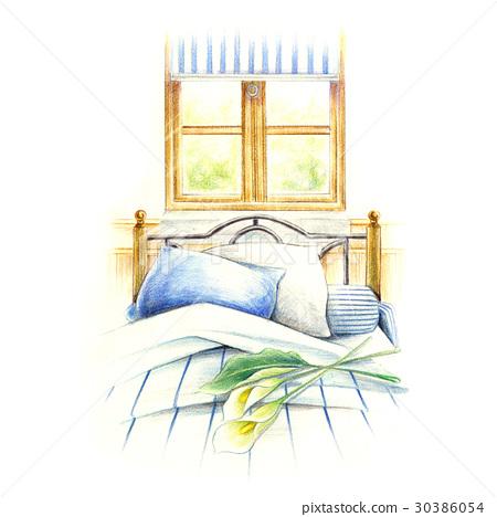 床頭櫃。 30386054