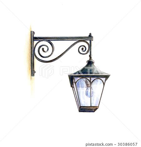 古色古香的路燈 30386057