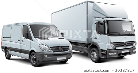 Box truck and light goods vehicle 30387817