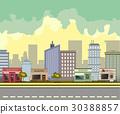 city, street, building 30388857