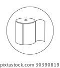 Toilet Paper Icon illustration design 30390819