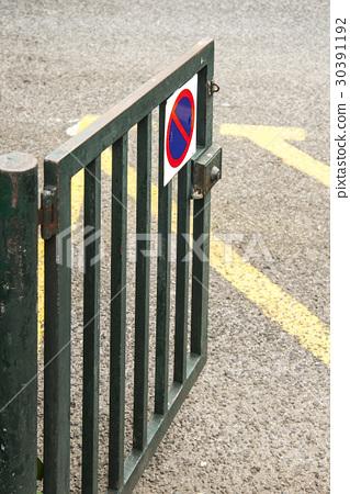 大門 門 鐵質的 30391192