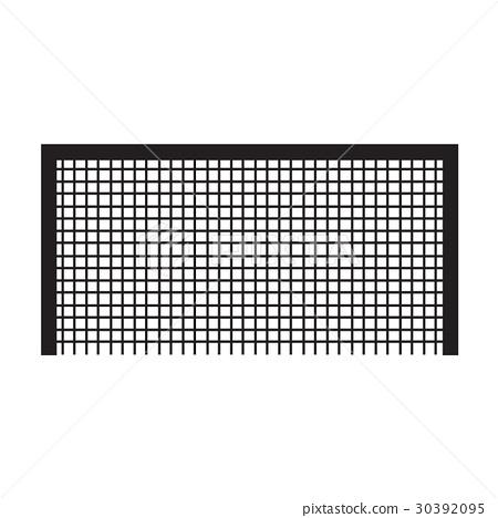 Soccer football goal icon illustration design 30392095