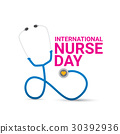 vector international nurse day vector label 30392936