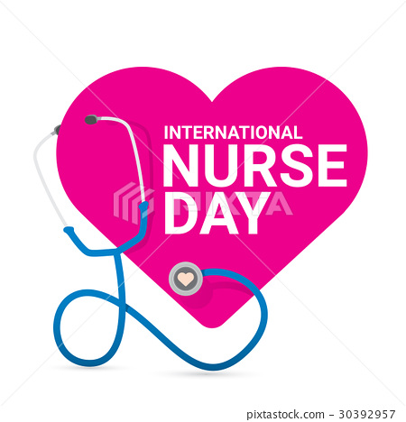 vector international nurse day vector label 30392957