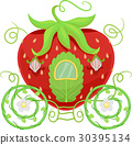 Horse Carriage Strawberry 30395134