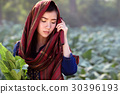 leaf, people, female 30396193