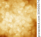 Abstract Golden Background with Star and Glitter 30400074