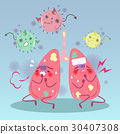 lung with health concept 30407308
