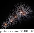 Pink fireworks  30408832
