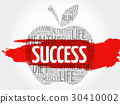 Success apple word cloud 30410002